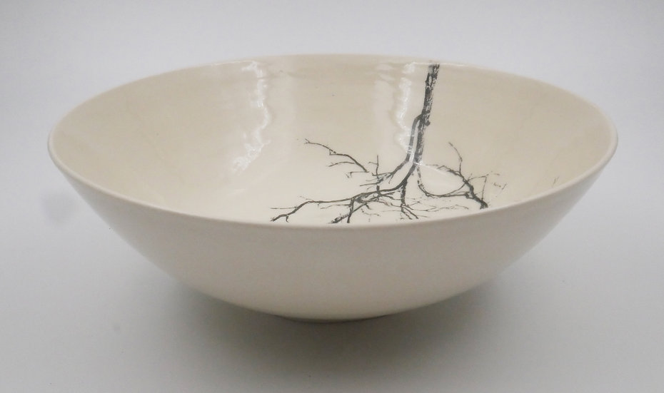 Two trees print bowl