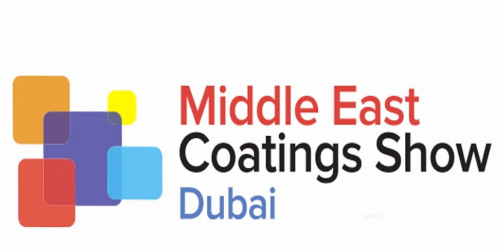Middle East Coating Show 2020 - Visit us at Stand No: G02a, DWTC, ARENA