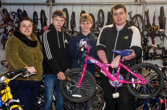 BUILD-A-BIKE LATEST PROJECT TO RECEIVE CASH INJECTION 19TH FEBRUARY 2018
