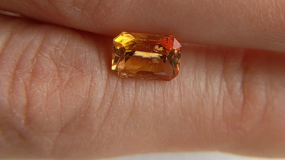 2.62 ct Mixed Cut Rectangle Imperial Topaz