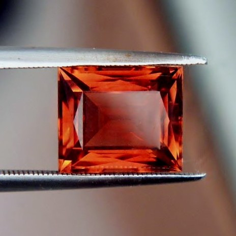 Russian Imperial Topaz Gemstone