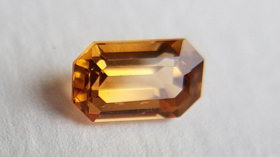 Emerald Cut Precious Topaz 1.07 ct