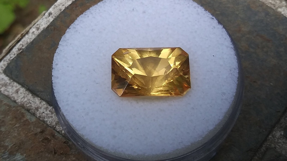 17.73 ct Modified Rectangle Golden Topaz