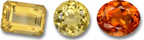 Hues of citrine from Gem Select