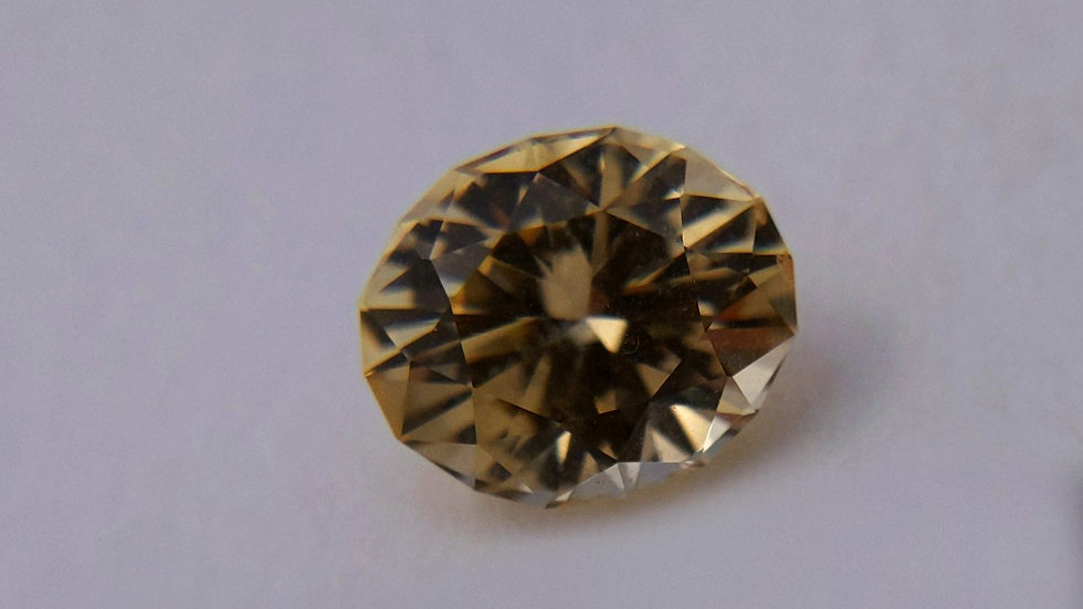 3.87 ct Oval Golden Topaz