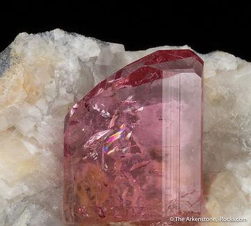 Pink Topaz Mineral Specimen from Katlang