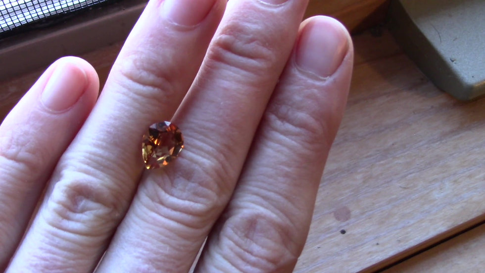 2.48 Golden Topaz, Pear Cut
