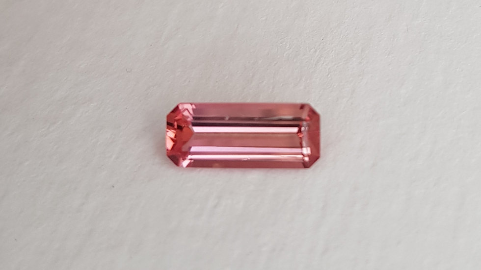 Emerald Cut Pink Topaz 1.42 ct