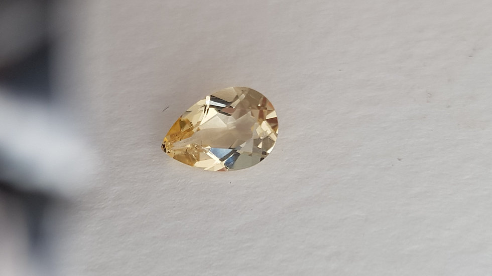 1.97 ct Teardrop Golden Topaz