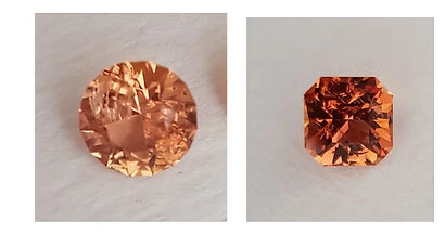 Natural Imperial Topaz from Brazil