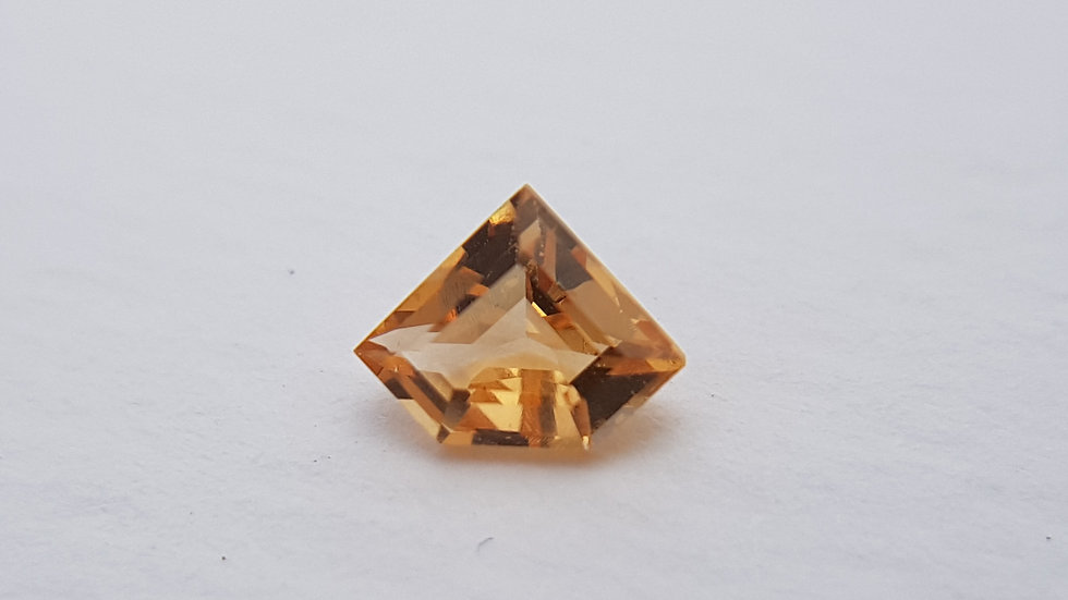 Step Cut Chevron Imperial Topaz 0.54 ct