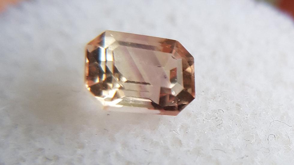 Emerald Cut Precious Topaz 1.37 ct