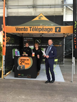 Bip and go Parc expo Caen