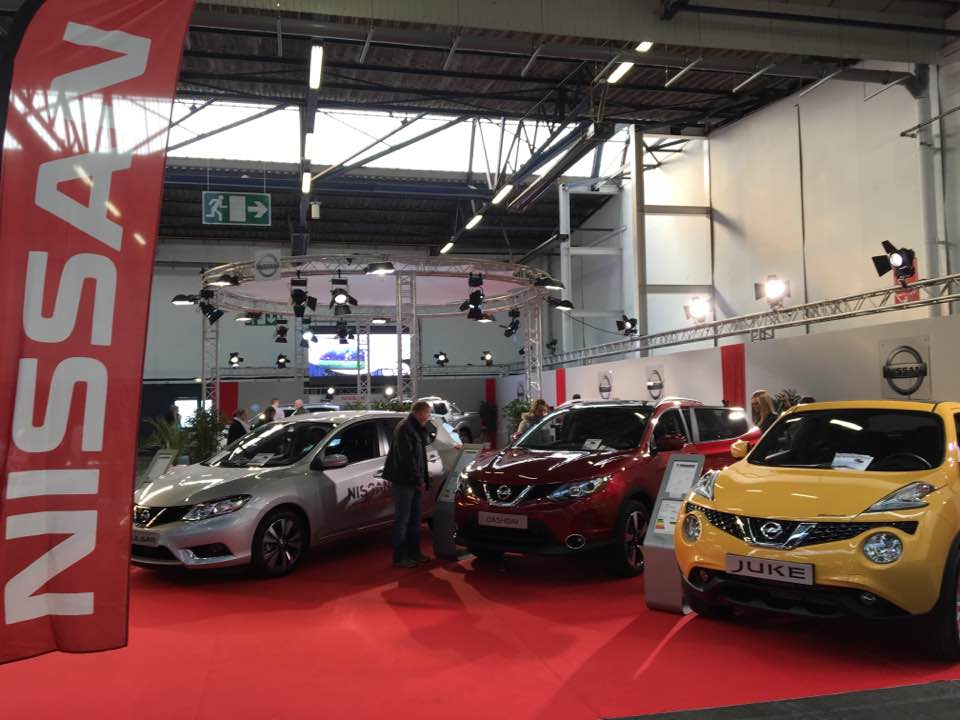 Nissan Hall 1 Parc expo Caen