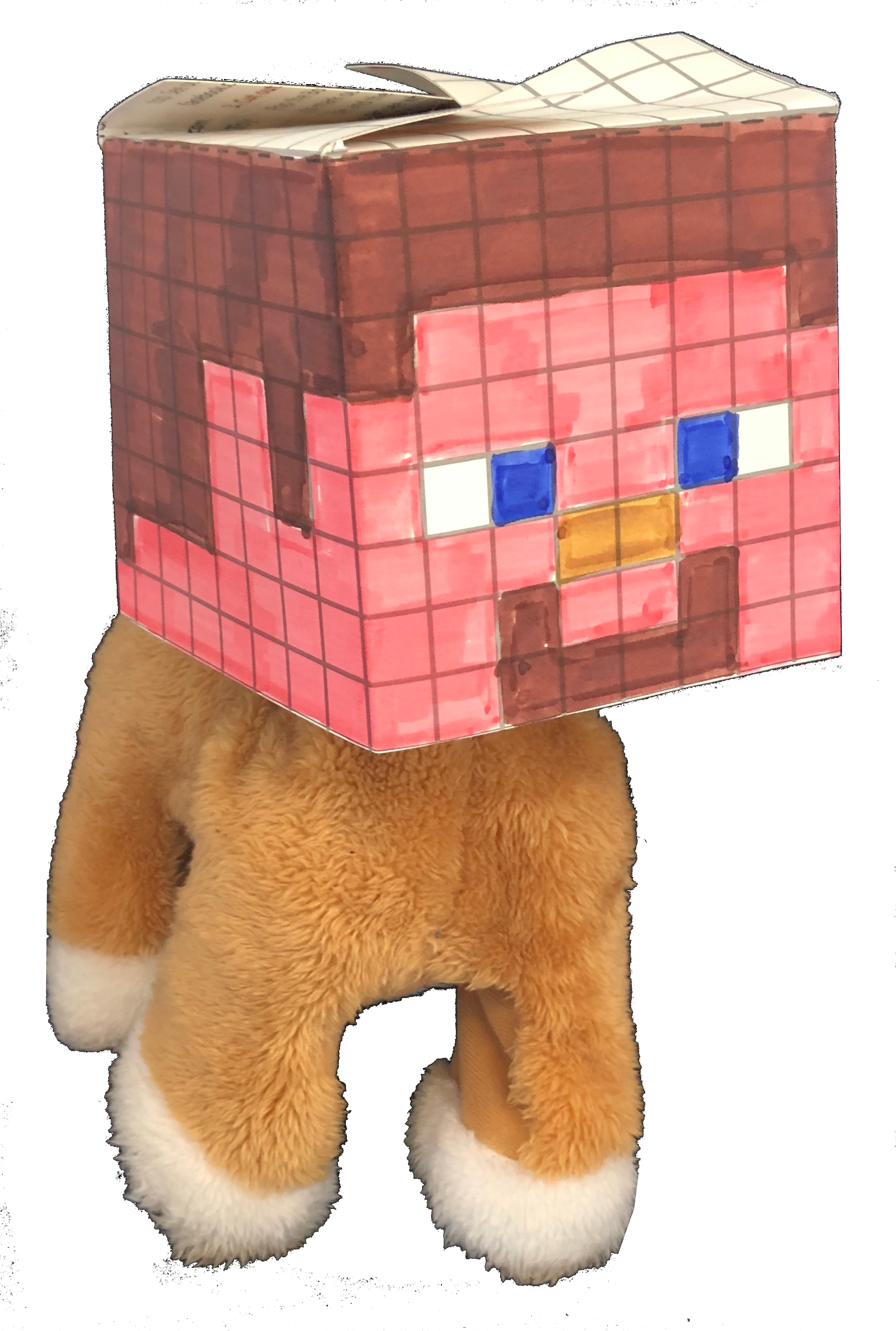 BoxHead Craft Dog Protoy