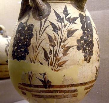 Dionysus in Minoan Art: Grapes, babies, and more