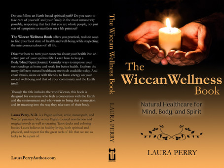 Cover Reveal: The Wiccan Wellness Book