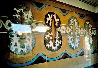 Shield fresco Knossos