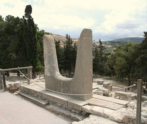 Horns at Knossos