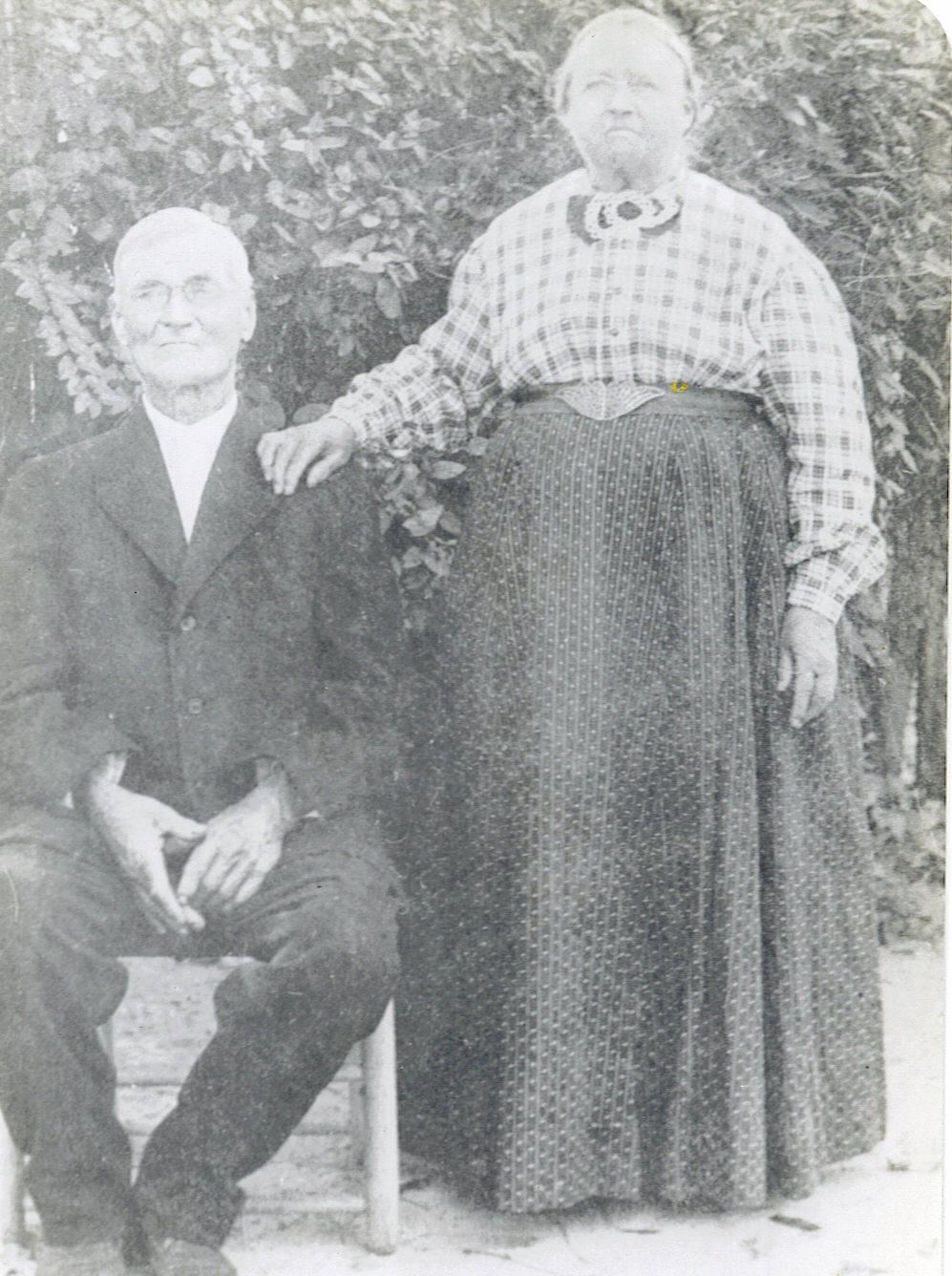 My great-grandparents, Eliza Smith Douglass and Frederick Harmon Douglass