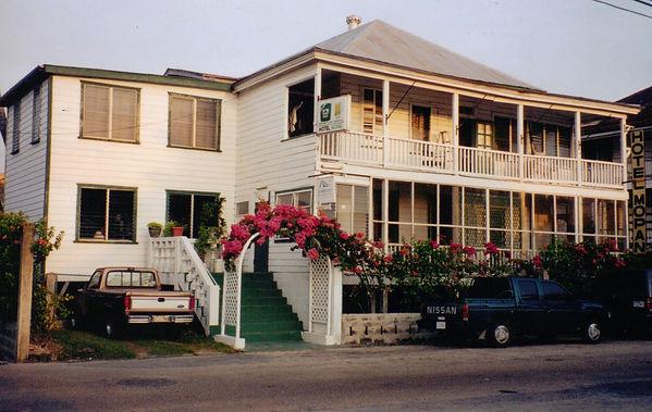 The Mopan Hotel in Belize City as seen in Jaguar Sky