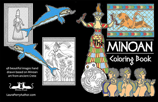 Minoan Coloring Book 2nd edition full co