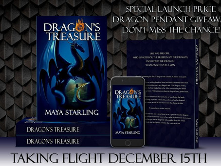 Dragons! A book cover reveal, that is