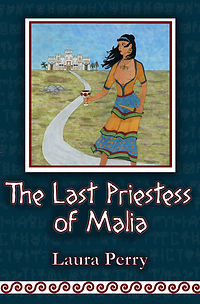 The Last Priestess of Malia by Laura Perry book cover