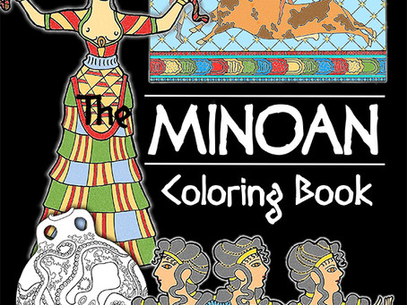 The New Minoan Coloring Book Is Here!