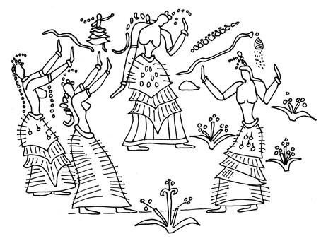 Minoan ecstasy: filling the empty spaces