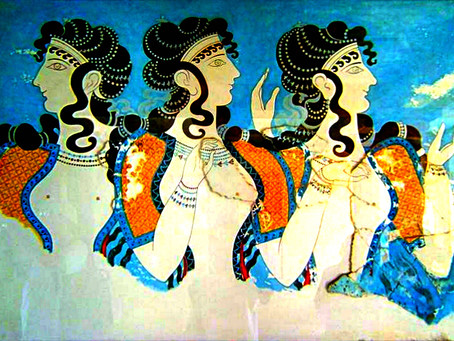 Musings on the Minoan Threefold Goddess