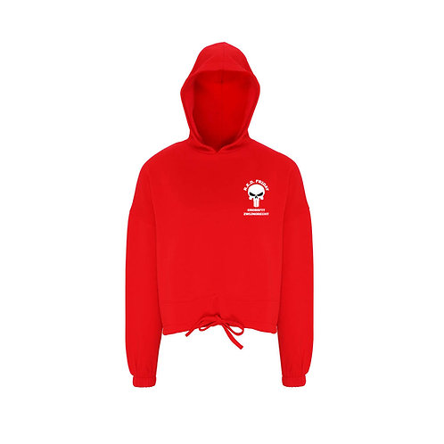 R.E.D. Friday cropped hoodie