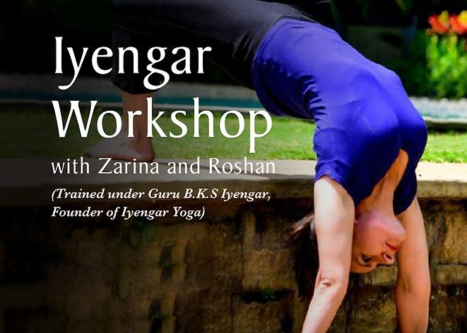 Iyengar Workshop
