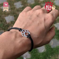 Paw Bracelet Black