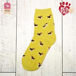 Yellow Pop Socks