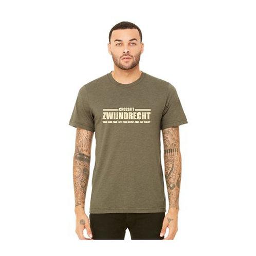 Heren Tri-blend t-shirt