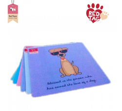Red Paws Charity Coaster