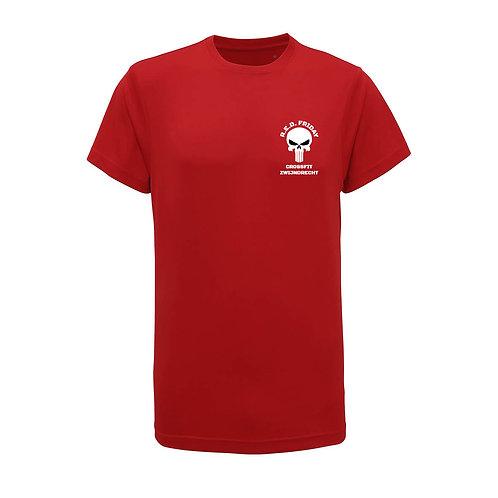 R.E.D. Friday polyester T-shirt