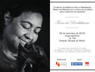 """Virada Inclusiva de SP: """"Faces da Reabilitação"""" no Metrô Tatuapé [03/12; 15h]"""