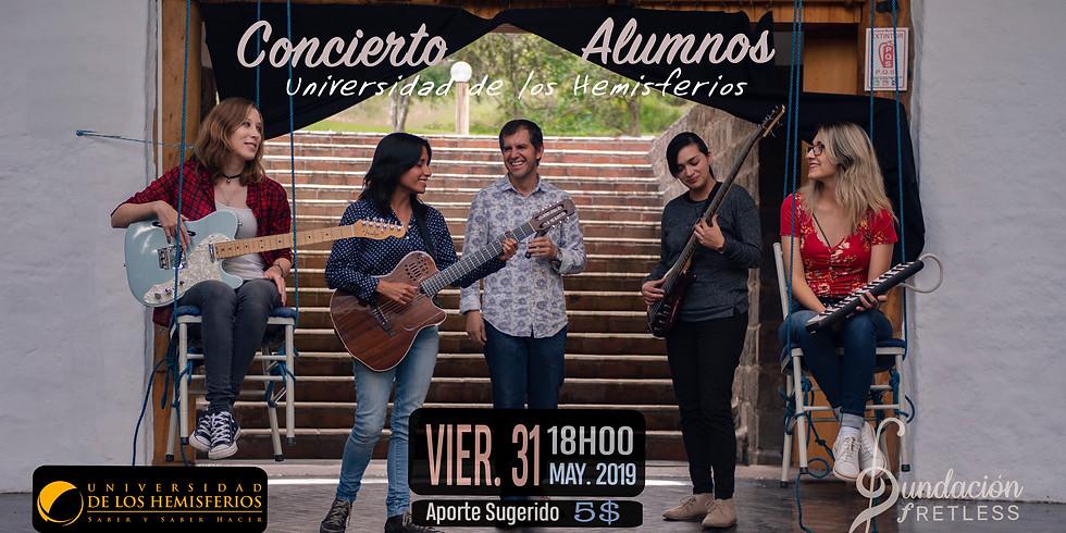 Concierto Alumnos Universidad de los Hemisferios