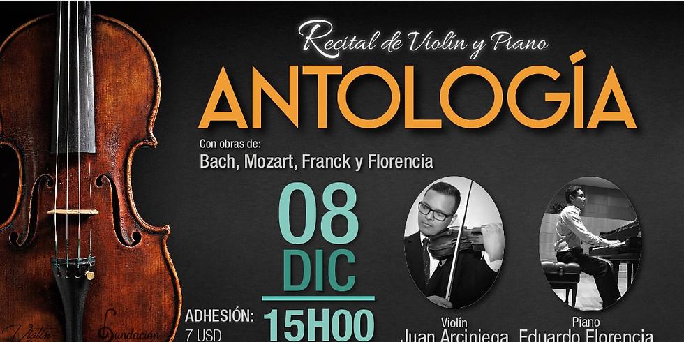 Recital de violín y Piano. Antología