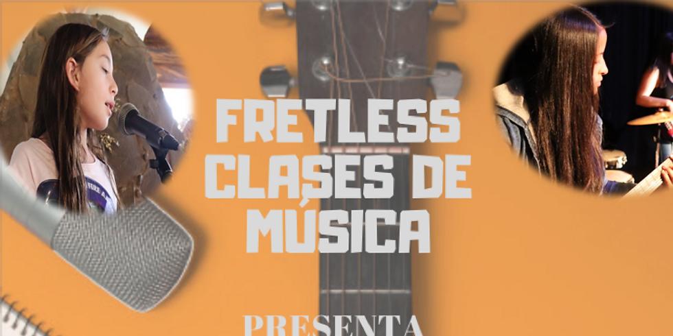 Concierto de guitarristas y cantantes