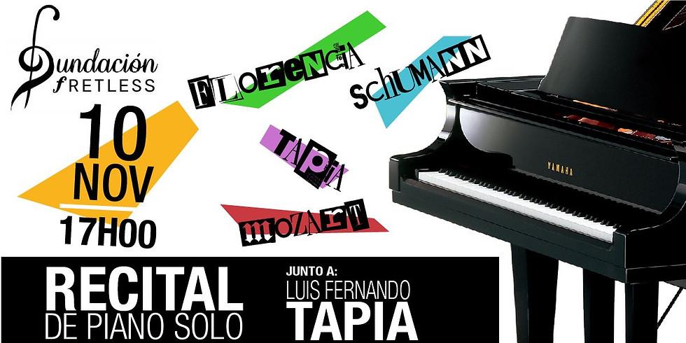 Recital de Piano Solo