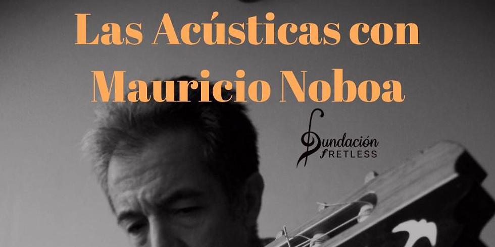 La acústica con Mauricio Noboa