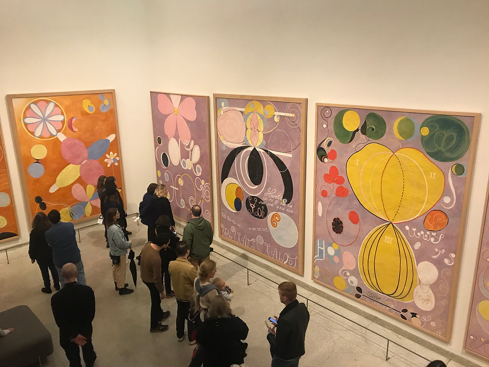 """hilma af klint: paintings for the future, """"The Ten Largest"""""""