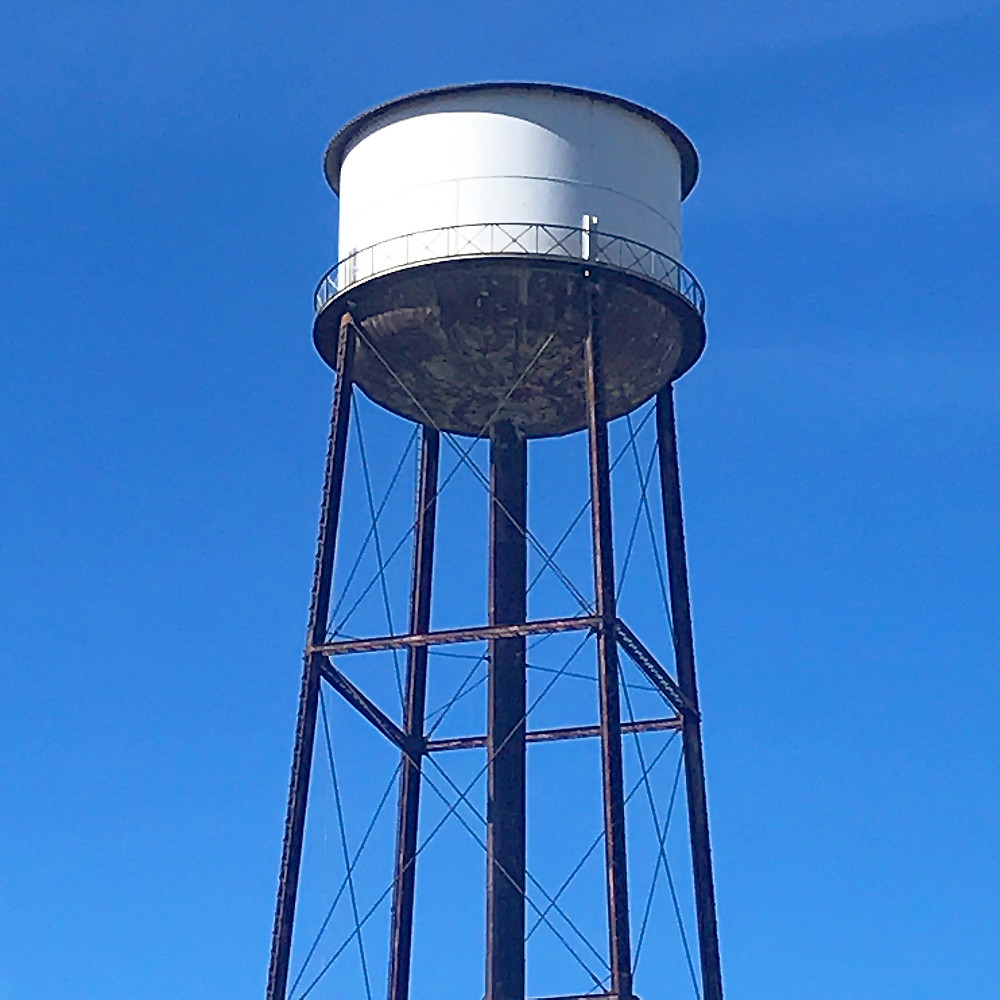 greenpoint water tower by Reb Carlson