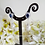 Thumbnail: Pearl and Sapphire Teardrop Dangle Earrings BRER4044