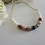 Thumbnail: Mother's Pearl Birthstone Necklace MNCK9006