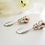 Thumbnail: Swarovski Pearl and Crystal Pave Drop Necklace and Earrings Set