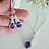 Thumbnail: Sapphire Cubic Zirconia Teardrop Wedding Earrings